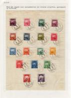 Parcel Post Sheet Cancel天津 (Tientsin) 2.9.1948 (1-12) - 1912-1949 Republik