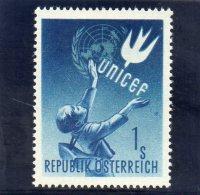 AUTRICHE 1949 ** - 1945-60 Ongebruikt