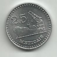 Mozambique 2,5 Meticais 1986. - Mozambique