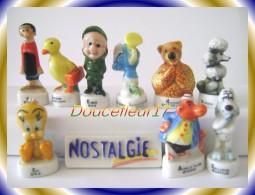 Nostalgie Feves Numerotées.... Serie Complète  ... Ref AFF : 5-1999 ... (pan 0012) - Tekenfilms