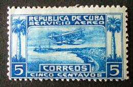 POSTE AERIENNE 1924 - NEUF * - YT PA 1 - MI 56 - Cuba