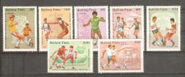 Serie Nº 666/8 + A-305/8 Burkina Faso - Burkina Faso (1984-...)
