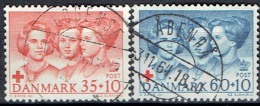 DENMARK  # FROM 1964  STANLEY GIBBONS 459-460 - Gebraucht