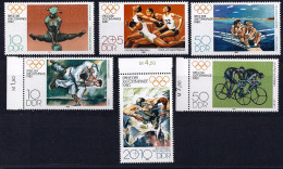 Allemagne RDA YT 2165-2167 + 2187-2189** - Summer 1980: Moscow