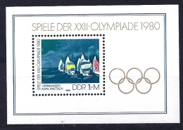 Allemagne RDA YT BF 58** - Summer 1980: Moscow