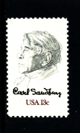 UNITED STATES/USA - 1978  CARL SANDBURG  MINT NH - Stati Uniti