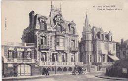 Cpa-14-villers Sur Mer-personnages- Villas Du Couchant Et Nina-edi A.D. N°63 - Villers Sur Mer