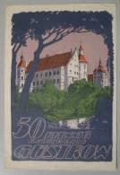 M_p> Germania Banconota 50 Pfennig REUTERGELD GUSTROW 1922 - Germania