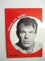 Théatre Galas Ch.Baret  Drole De Couple Avec Jess Hahn Et Philippe Dumas Saison D'hiver 1967-68 - Advertising