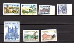 Tourisme, 7 Timbres Non Dentelé, Entre 1352 Et 1571** (tirage De 1000 Ex), Cathédrale, Vigne, Dentelle, Réserves Naturel - Holidays & Tourism