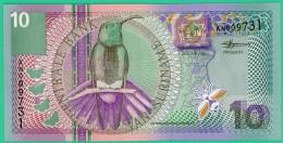 10 Florins - Gulden - Surinam - 2000 - N° AN009731 - Neuf - - Surinam