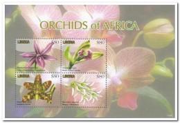 Liberia 2011, Postfris MNH, Flowers, Orchids - Liberia