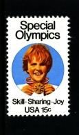 UNITED STATES/USA - 1979  SPECIAL OLYMPICS  MINT NH - Stati Uniti