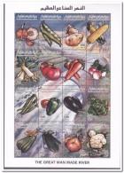 Libié 1998, Postfris MNH, Vegetables - Libië
