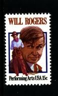 UNITED STATES/USA - 1979  WILL ROGERS  MINT NH - Stati Uniti