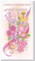 Lesotho 2002, Postfris MNH, Flowers - Lesotho (1966-...)