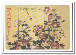Lesotho 2004, Postfris MNH, Flowers - Lesotho (1966-...)
