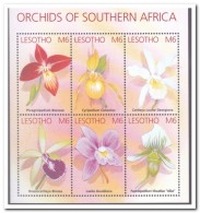 Lesotho 2002, Postfris MNH, Flowers, Orchids - Lesotho (1966-...)