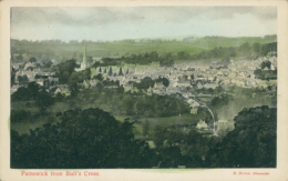 GB PAINSWICK / Painswick From Bull's Cross / COLORED CARD - Inghilterra