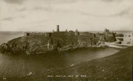 GB PEEL / Peel Castle, Isle Of Man / GLOSSY CARD - England