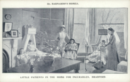 GB REDBRIDGE / Little Patients In The Home For Incurables / - London