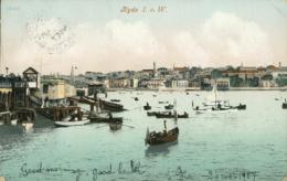 GB RYDE / The Wharfs / COLORED CARD - England