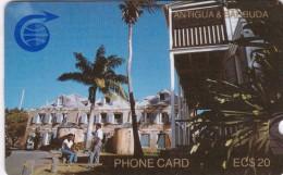 Antigua, ANT-1C, Nelsons Dockyard, 2 Scans.   1CATC . - Antigua And Barbuda
