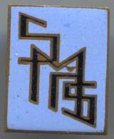 SMS -  Vintage Pin Badge, Enamel - Pin