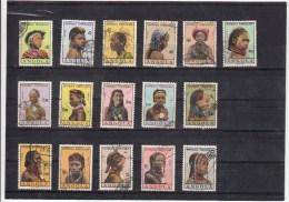 Angola, 1961, Tipos Femininos De Angola, - Af. 412 To 427 Used - Angola