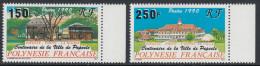 French Polynesia 1990 Centenary Of Papeete. Mi 557-558 MNH - Neufs