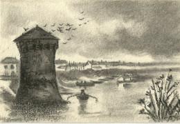 Paysage Marin  Jeanne Monnier - Autres Illustrateurs