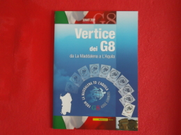 Italia  Folder 2009 Vertice G8 Catalogo 2012 € 16,50 Prezzo Copertina € 10 - Folder