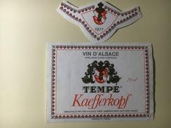 801 - Alsace Tempé Kaefferkopf 1977 - Blancs