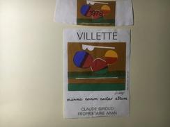 804 - Suisse Vaud  Villette 1978 Illustartion Dorny - Art