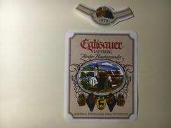 806 - Suisse Zürich Eglisauer Stadtberg Zürcher Blauburgunder - Etiquetas