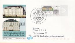 Duitsland - FDC 8-4-1997 - UNESCO-Welterbe (VI): Schlösser Augustusburg Und Falkenlust In Brühl - Michel 1913 - UNESCO
