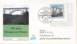 Duitsland - FDC 20-6-1997 - Brücken (I): 100 Jahre Müngstener Brücke - Michel 1931 - Bruggen