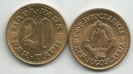 Yugoslavia 20 Para 1974. UNC/AUNC  KM#45 - Yugoslavia