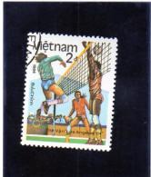 1984 Vietnam - Olimpiadi Di Los Angeles - Volleyball