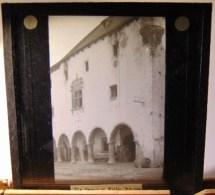 Plaque  De Verre - Espagne - Haut  Aragon -  Bielsa  -  Casa  Consistorial ( Format  8.5 X 8 Cm ) - Plaques De Verre