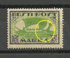ESTLAND Estonia 1922 Michel 23 A  + Printing ERROR * - Estonie