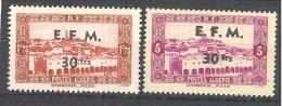Algerie: Entre Yvert N° Timbre Télégraphe 1/2**; 9 Valeurs - Algérie (1924-1962)