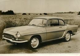 France Automobile Voiture Renault Cabriolet Coupé Caravelle Ancienne Photo 1963 - Cars