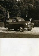 France Automobile Voiture Renault Colorale Prairie Break Rural Ancienne Photo 1951