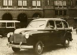 France Automobile Nouveau Taxi Renault Type 85 Ancienne Photo 1950