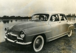 France Automobile Voiture Simca Aronde Ancienne Photo 1956