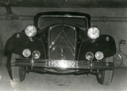 France Automobile Voiture Citroen Traction Ancienne Photo 1953 - Cars