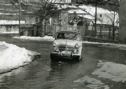 Italie Genes Genova Rallye De Sestriere Automobile Fiat 103 Ancienne Photo 1956 - Cars