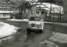 Italie Genes Genova Rallye De Sestriere Automobile Fiat 103 Ancienne Photo 1956