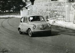 Italy Rallye Automobile De Sestriere Fiat 600 De Capelli & Gerli Ancienne Photo 1956
